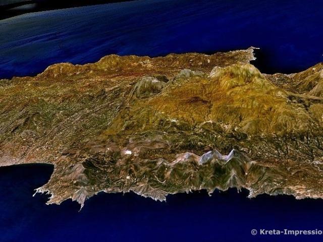 Nordküste west-. lich von Heraklion