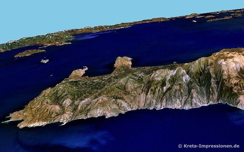Südküste von Elafonisi bis zur Samaria-Schlucht