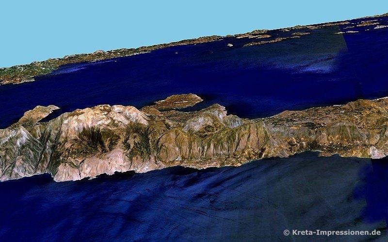 Südküste von Agia Roumeli bis nach Preveli