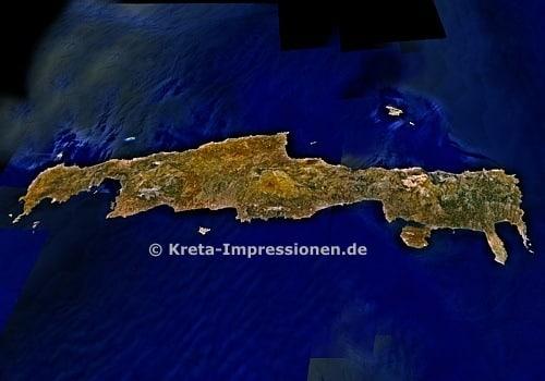 Kreta von Norden