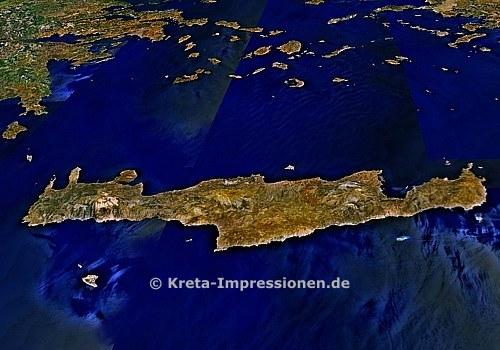 Kreta von Süden