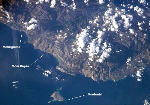 Makrigialos und Insel Koufonisi