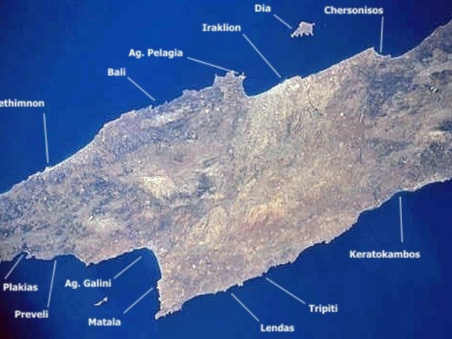 Messara und Insel Dia