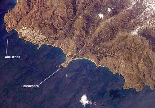 Paleochora mit Kap Krios